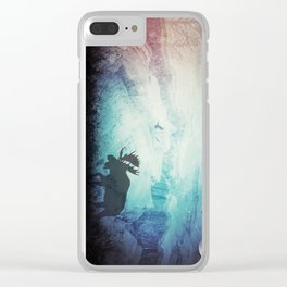 Traveling Soul Clear iPhone Case