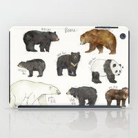 dwight iPad Cases featuring Bears by Amy Hamilton