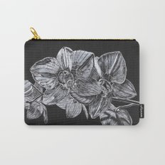 Silver Orchid Carry-All Pouch