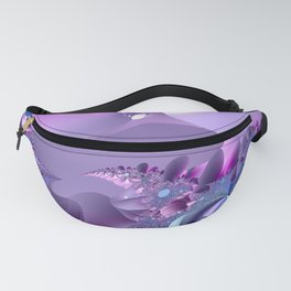 Stormy fractal waters and the lighthouse Fanny Pack