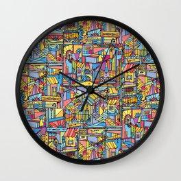 Slum Urban Wall Clock