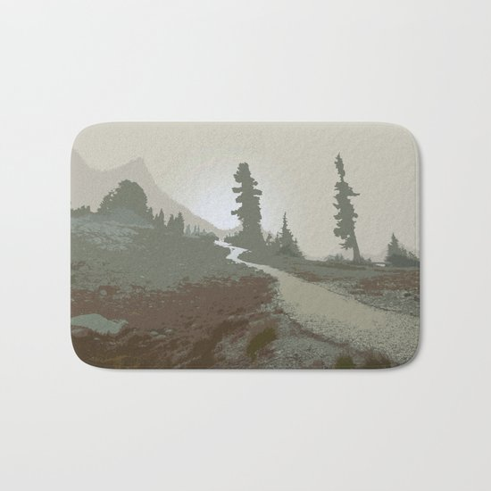 FOGGY MOUNTAIN TRAIL Bath Mat