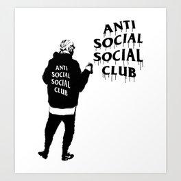 hype series _anti anti Art Print