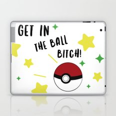 Get in the ball >:0 !!! Laptop & iPad Skin