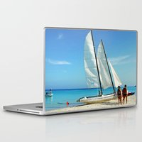 cuba Laptop & iPad Skins featuring Cuba Beach by Parrish