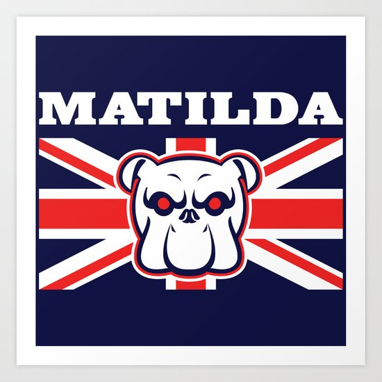 Matilda Art Print