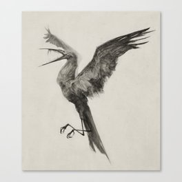 Hunger Bird Canvas Print
