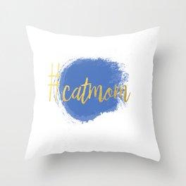 #CATMOM Throw Pillow