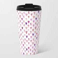 Color Heart Travel Mug