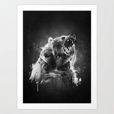B-R Art Print
