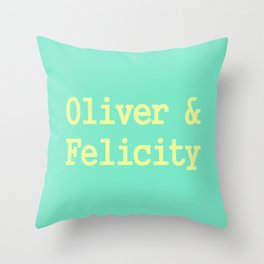 Oliver & Felicity Throw Pillow