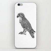 falcon iPhone & iPod Skins featuring Falcon by LegendOfZeldy