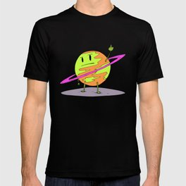 Angry Saturn T-shirt