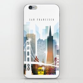 City of San Francisco painting iPhone Skin