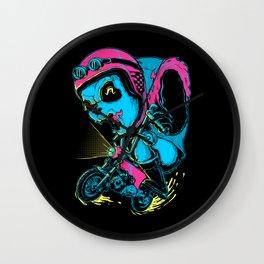 Panda Rider Wall Clock