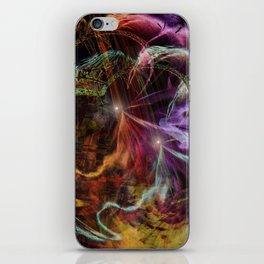 """""""Descending Down The Rabbit Hole"""" iPhone Skin"""