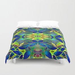 Floral Fractal Art G373 Duvet Cover