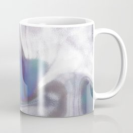 An abstract colorful holographic futuristic texture. Coffee Mug