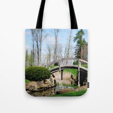 Across the stream Tote Bag