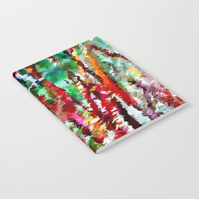 Autumn Grasses Abstract Notebook