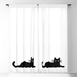 Black Cat(s) Blackout Curtain