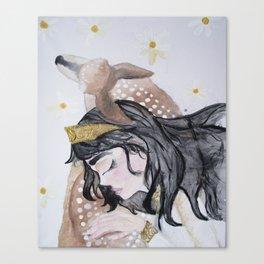 The Fawn Princess Canvas Print