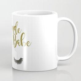 Blonde Boss Babe Coffee Mug