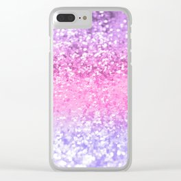 Unicorn Girls Glitter #2 #shiny #decor #art #society6 Clear iPhone Case