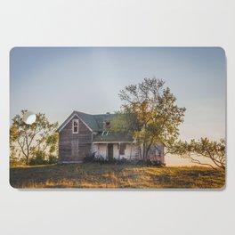 Abandoned Farmstead, North Dakota 3 Cutting Board