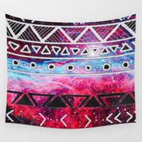 aztec Wall Tapestries featuring AZTEC by UDIN