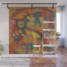 There's Order in Chaos: Marbleizing Wall Mural