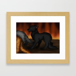 They are not my kits! Framed Art Print