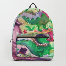 all gators are beautiful Backpack