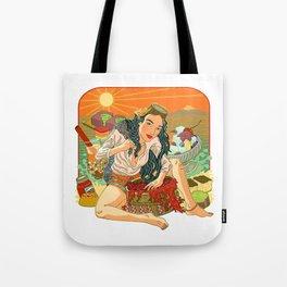Agar Lady Tote Bag