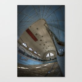 In at the deepend Canvas Print
