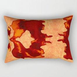 Stain Rorschach Rectangular Pillow
