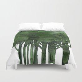 Tree Impressions No.1C by Kathy Morton Stanion Duvet Cover