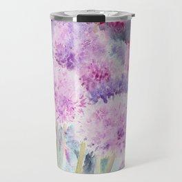 Alliums and Foxgloves Travel Mug