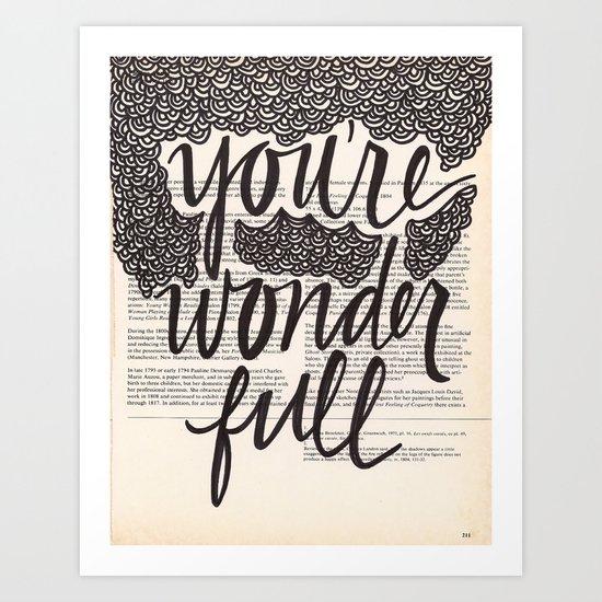 Wonder Full Art Print