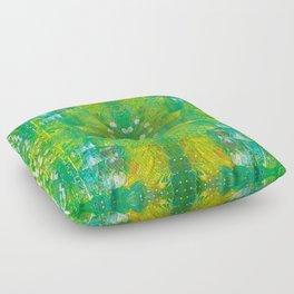 Kiwi Fantasy Floor Pillow