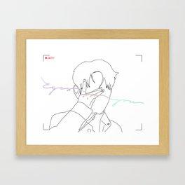 Eyes On You Framed Art Print
