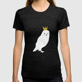 A king Owl,  T-shirt