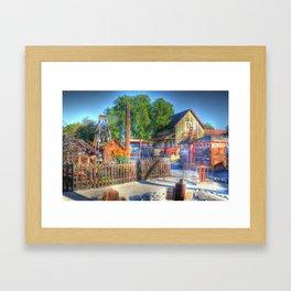 Western Yard Framed Art Print