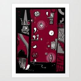 Dark toy Art Print