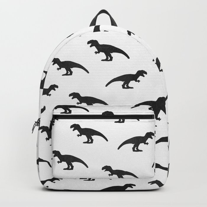 T-Rex Pattern Backpack