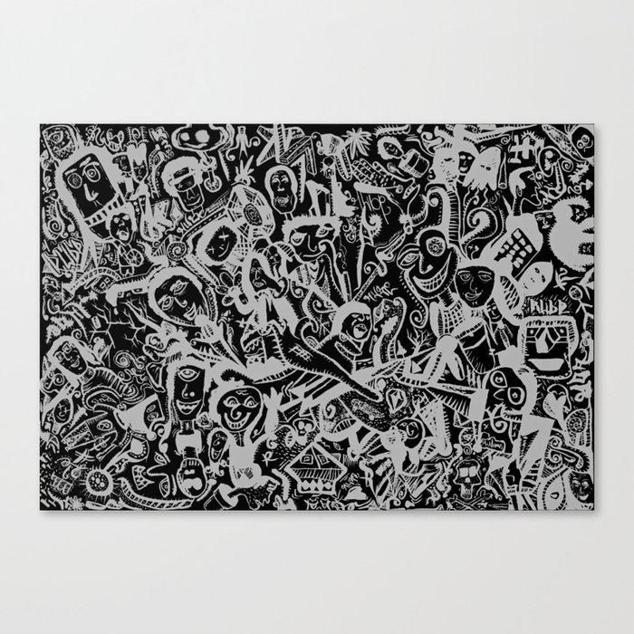 Caras I  Canvas Print