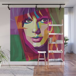 Taylor in WPAP Wall Mural