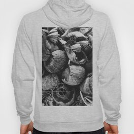 Coconut Shell Black and White Hoody