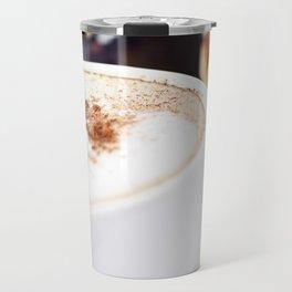 Breakfast with coffee, croissants and jam Travel Mug