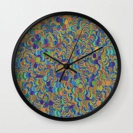 Dot Cliques Wall Clock